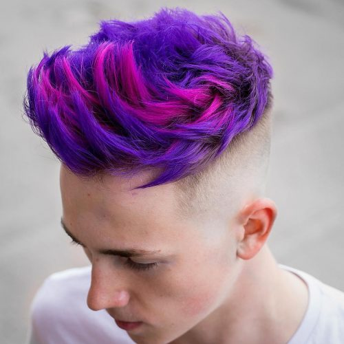 Cool Hair Colors For Guys
