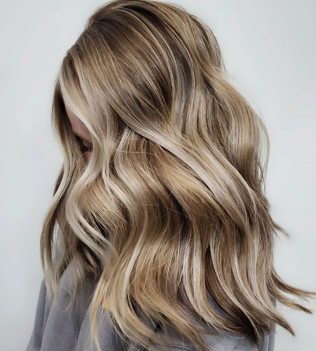 Layered Dirty Blonde Hair Color Is The Latest Hairstyle Trend