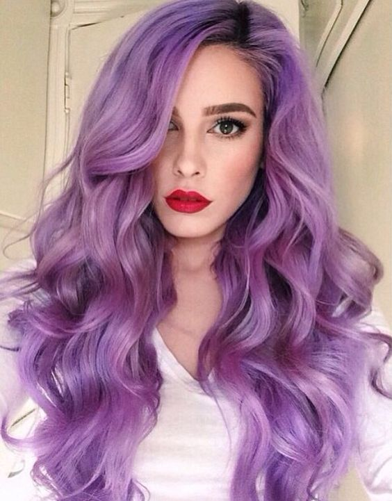 How To Get The Look Of Purple Hair Color