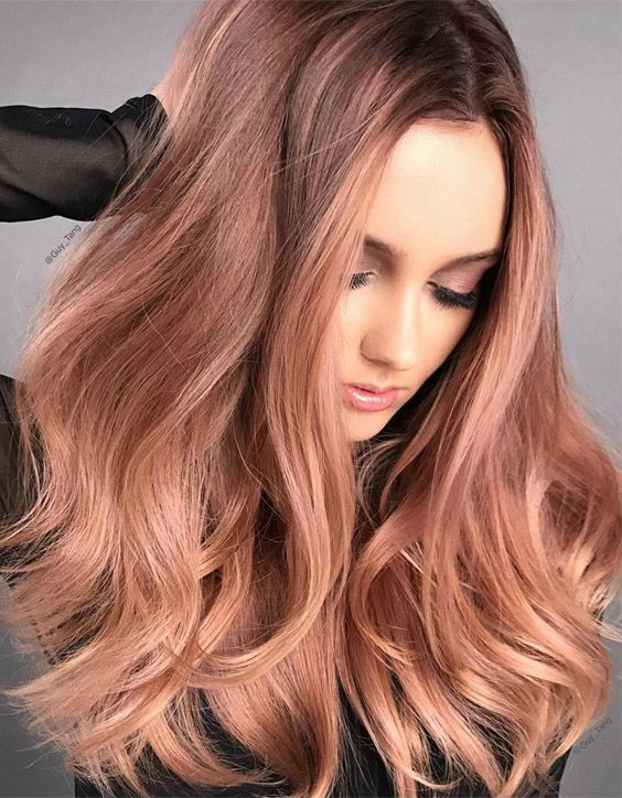 Rose Gold Hair Color – The Latest Trend in Hair Colors