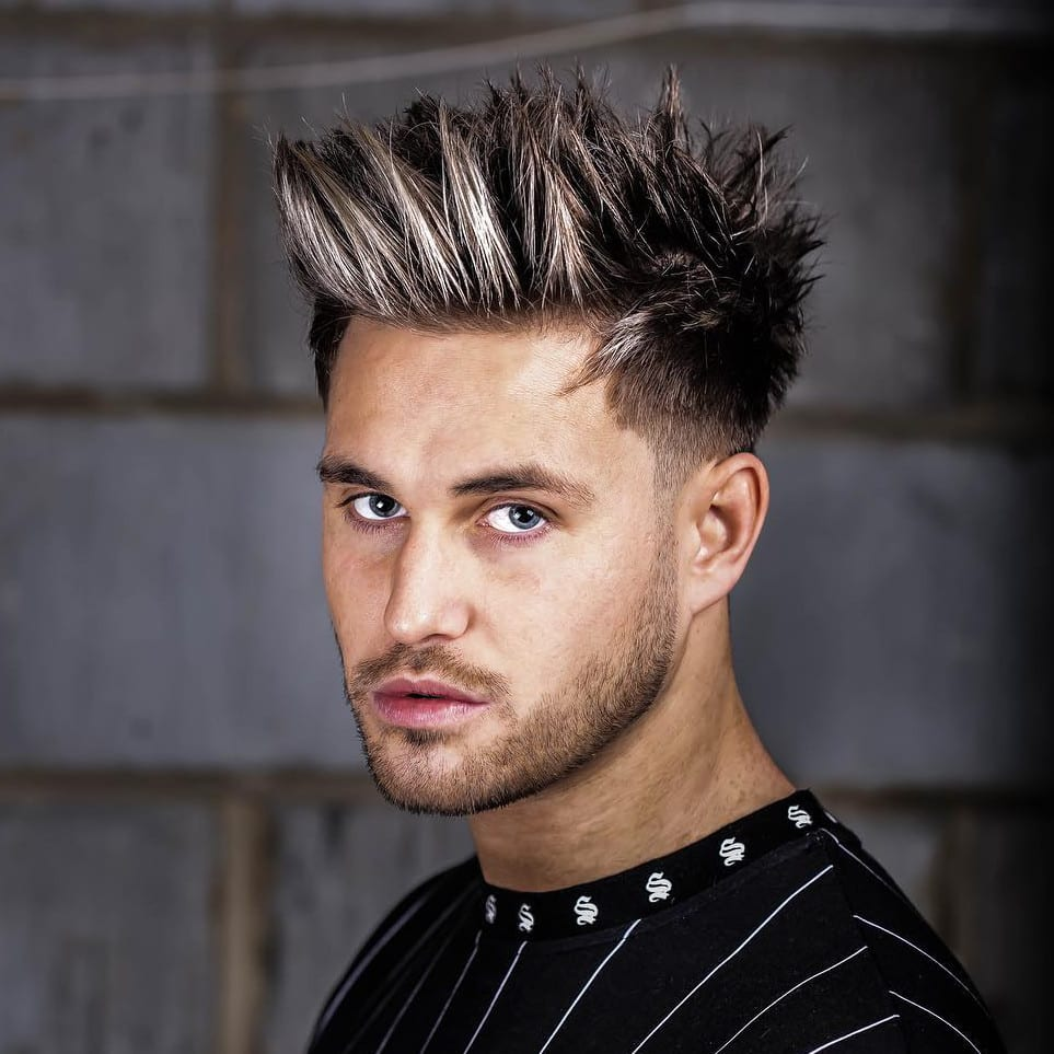 Spiky Hair Styles – Easy Hairstyles For Men