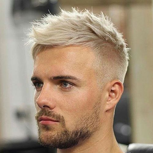 The Beautiful Hairstyle Ideas Blonde Hair For Men