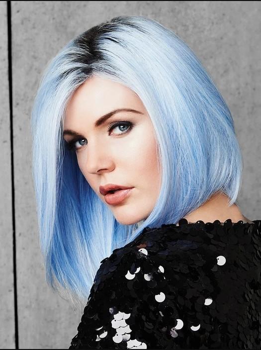Colored Wigs for a Unique Hair Style Idea