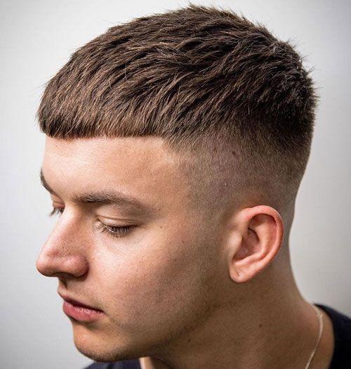 Crop Top Haircut Design Ideas for Men
