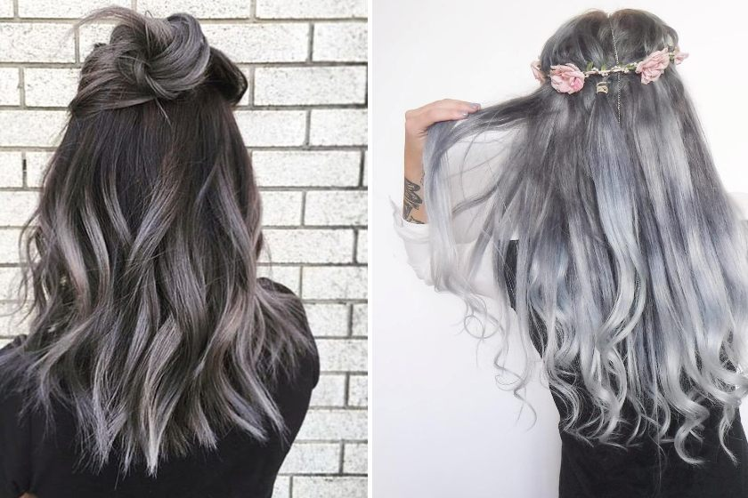 The Stunning Grey Ombre Hair Styles