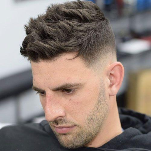 Awesome Medium Fade Haircut For Men
