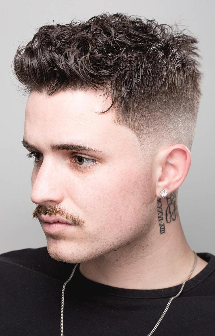 Different Hairstyles For Men With Short Curly Hair