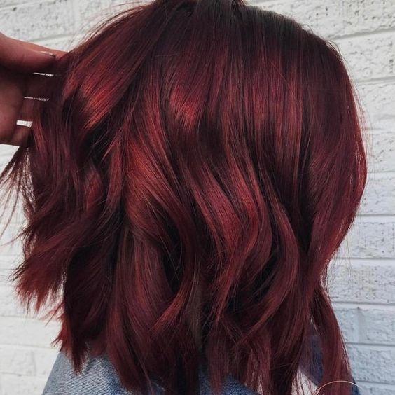 Fabulous Burgundy Red Hair Design Ideas