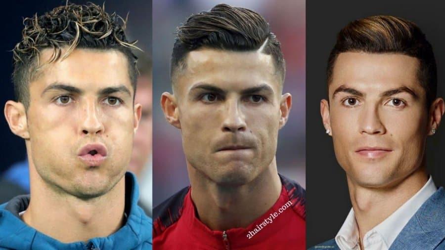 Exciting Celebrity Cristiano Ronaldo Haircut Design Ideas