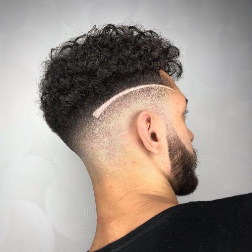 Taper Fade Hairstyles For Men With Curly Hair