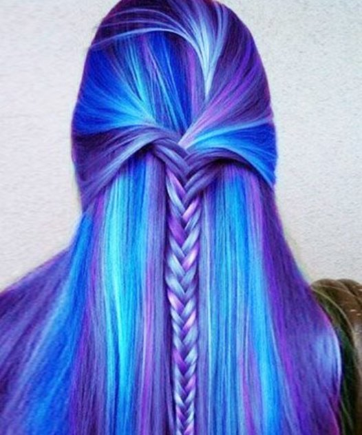 The Impressive Galaxy Hair Styles Design Ideas