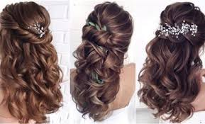 Half Up Half Down Hairstyles – Two Easy Hair Design Ideas
