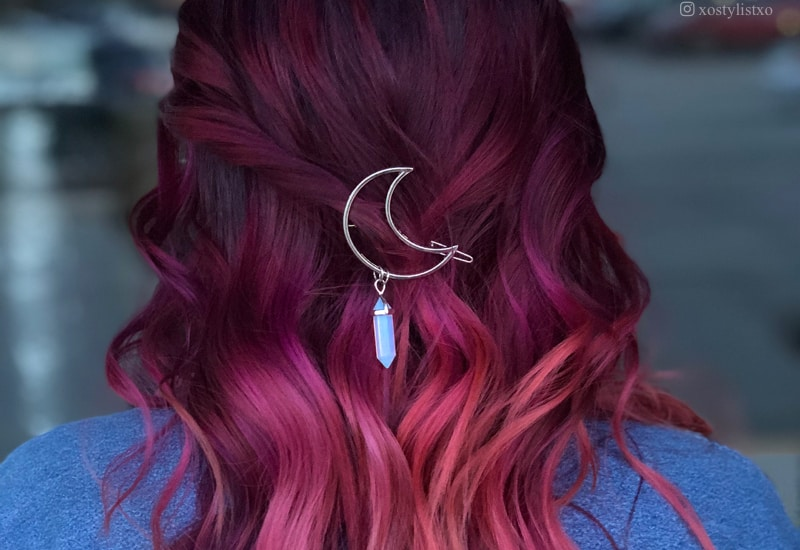 Find Some coolest Maroon Hair Cut Ideas