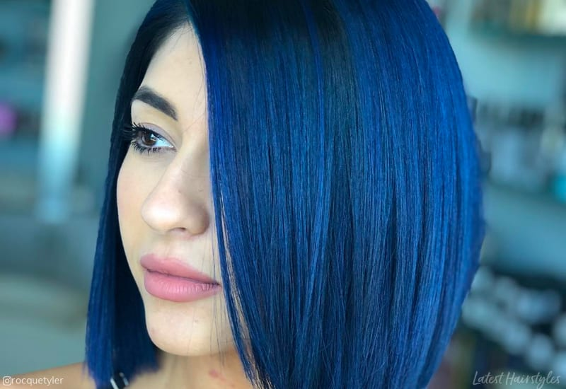 155+ Midnight blue hair Ideas That Are Rejuvenating
