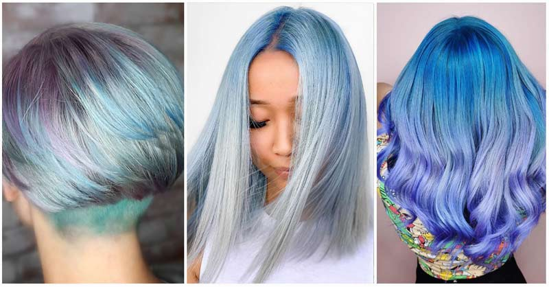 What are the Best Hair Style Ideas for Blue Hair?