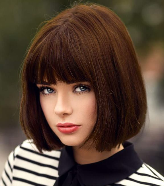 Stunning Short Brown Hair Design Ideas