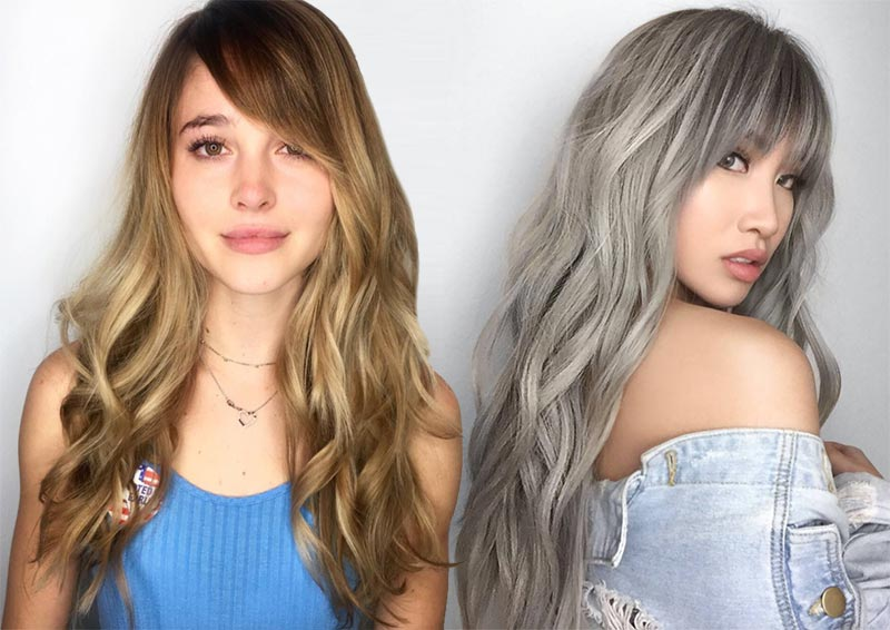 Side Bangs For Long Hair – A New Hair Style Idea For Those With Curly Hair