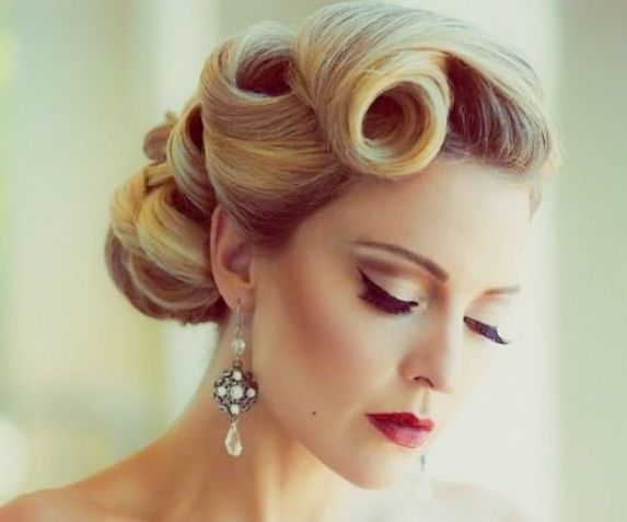 Attractive 50s Hair Styles