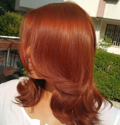Model Ideas For Amber Hair Colors