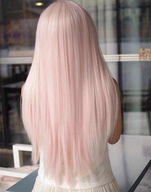 Beautiful Baby Pink Hair Design Ideas