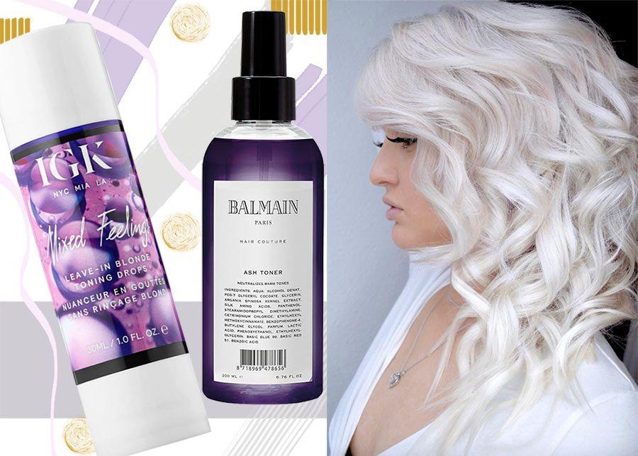 Best Hair Toner and Shampoo Combo