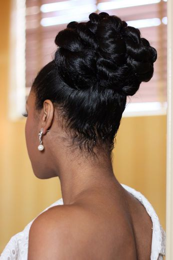 Black Women's Hair – Updo Of The Month For April