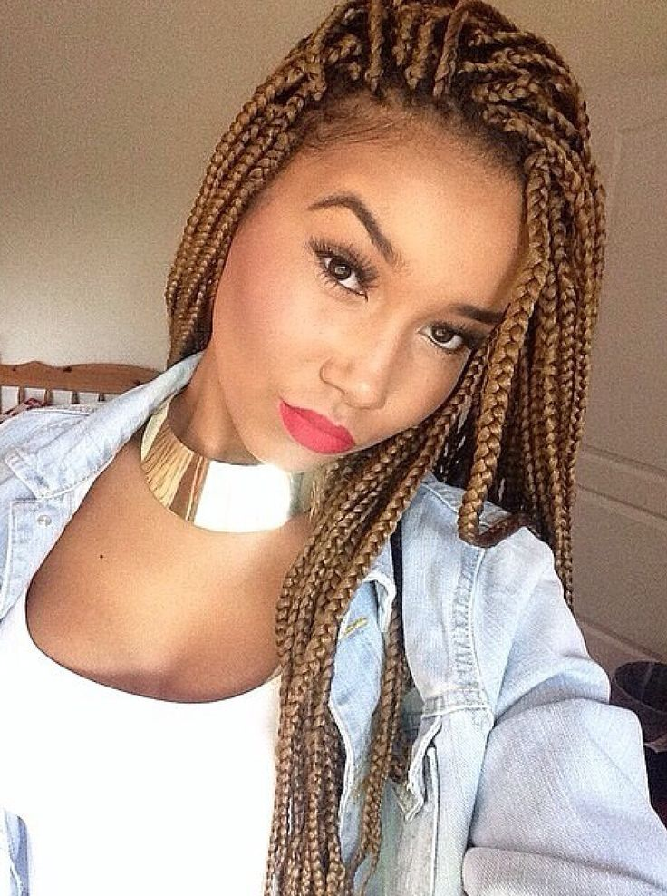 Latest Style Trend – Box Braided Styles for Fall