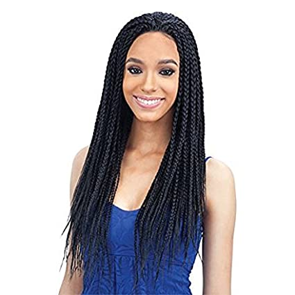 Some Most Beautiful Hairstyles With The Braided Lace Wigs
