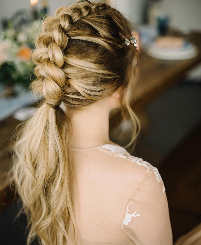 Braids Styles for Medium Long Hair