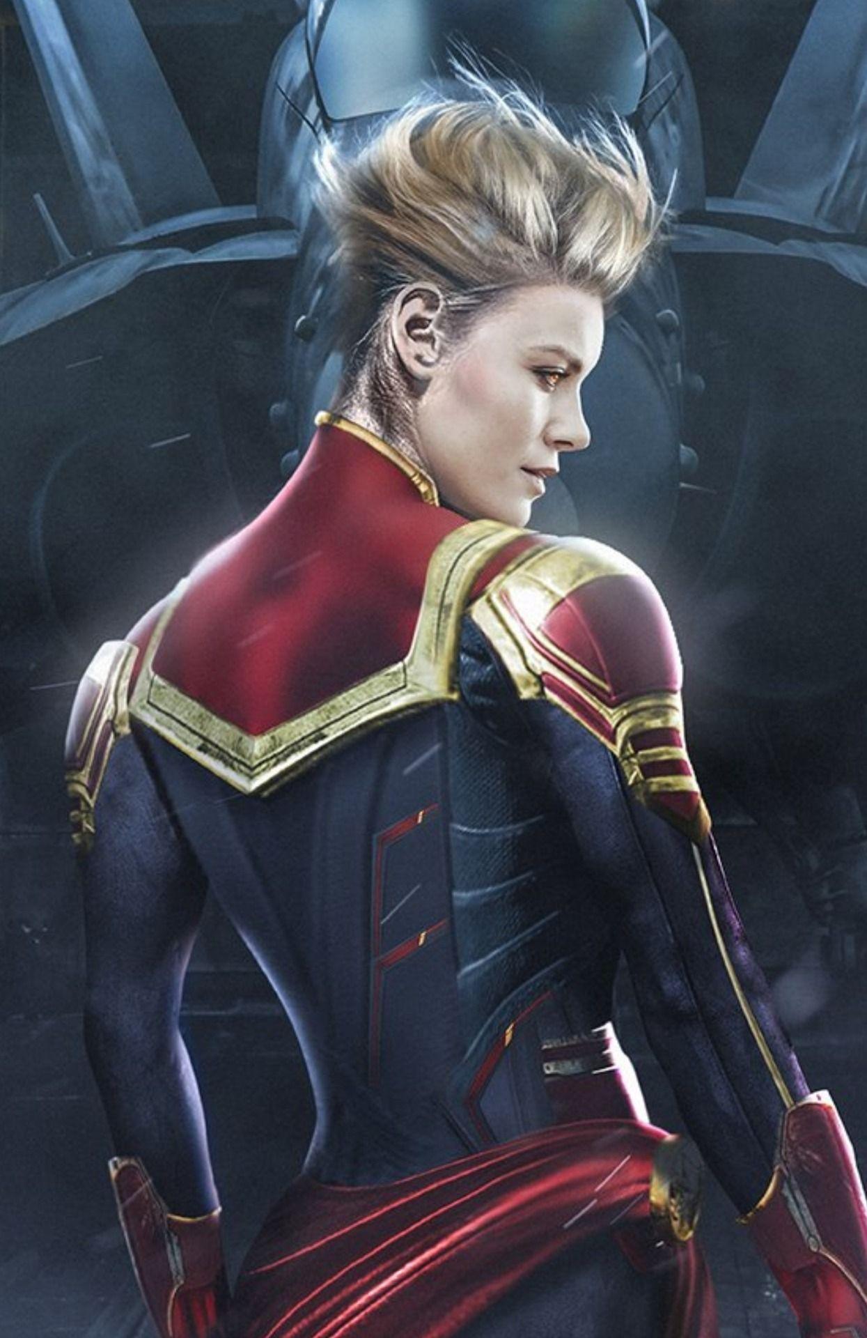 Captain Marvel short hair Style Trends – The Modern Model