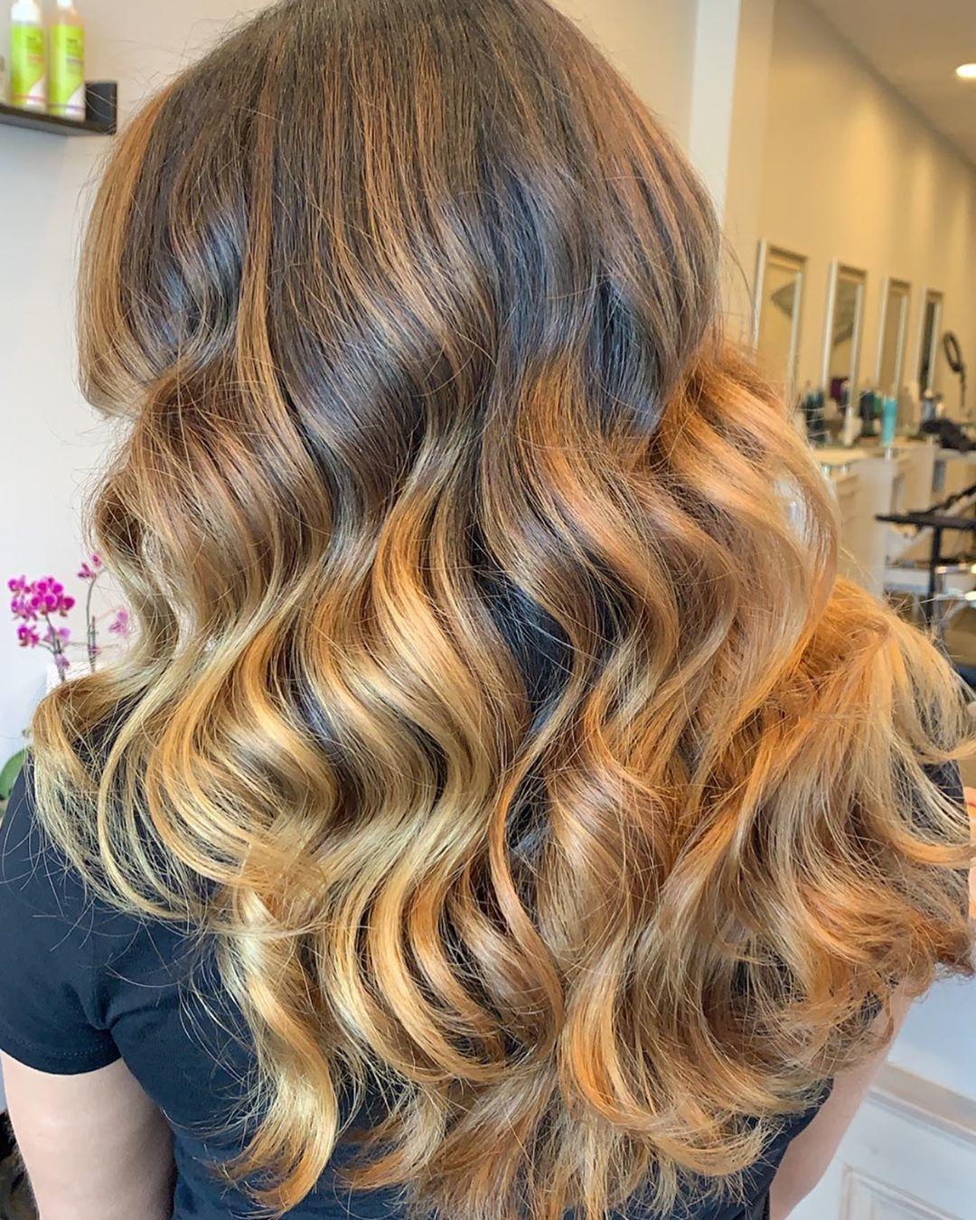Caramel blonde hair Style Trends – The Modern Model