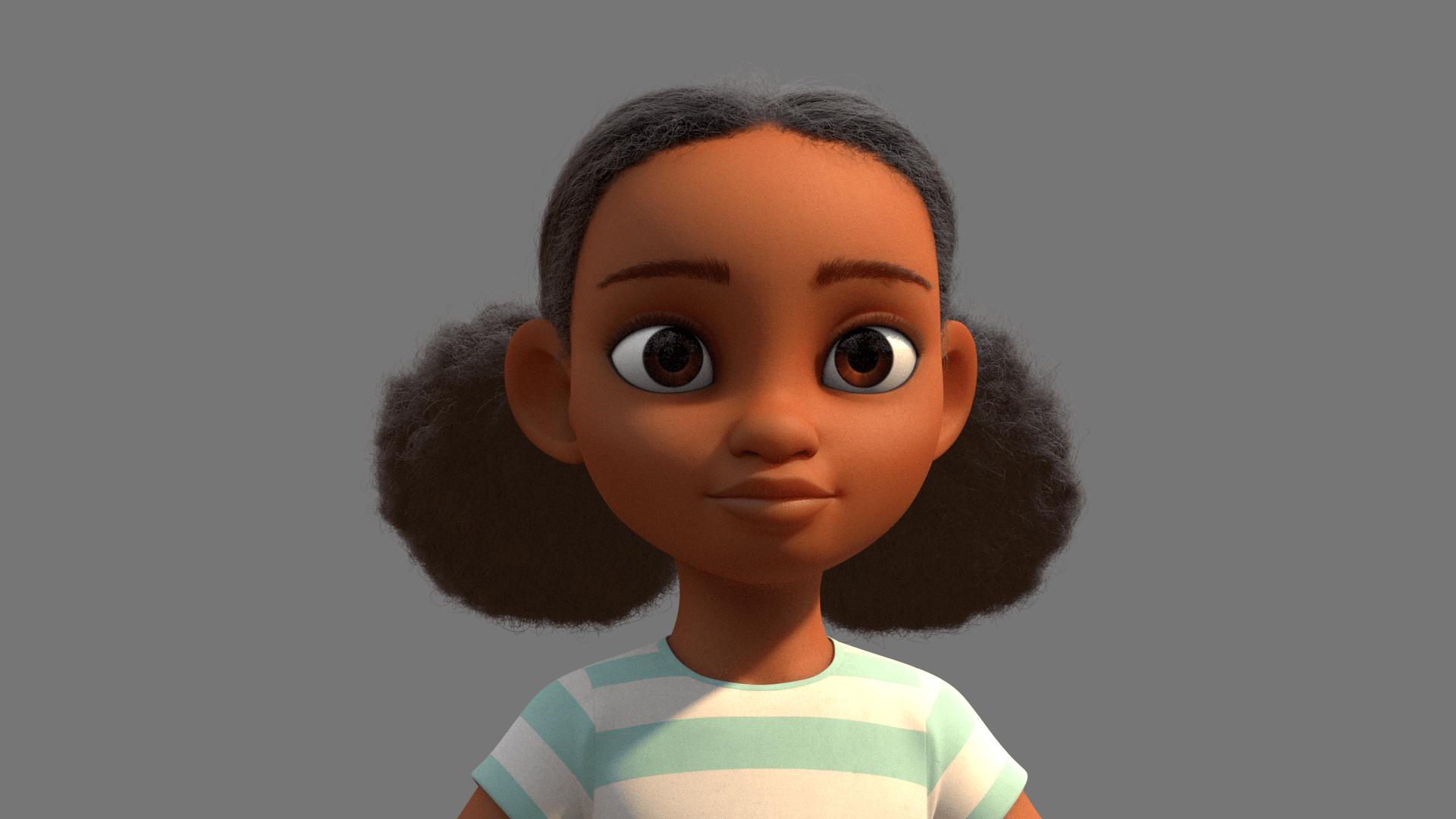 Cartoon Hair – Draw cartoon style