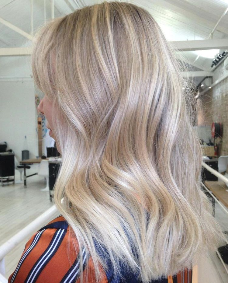 Model Ideas – The Champagne Blonde Hair