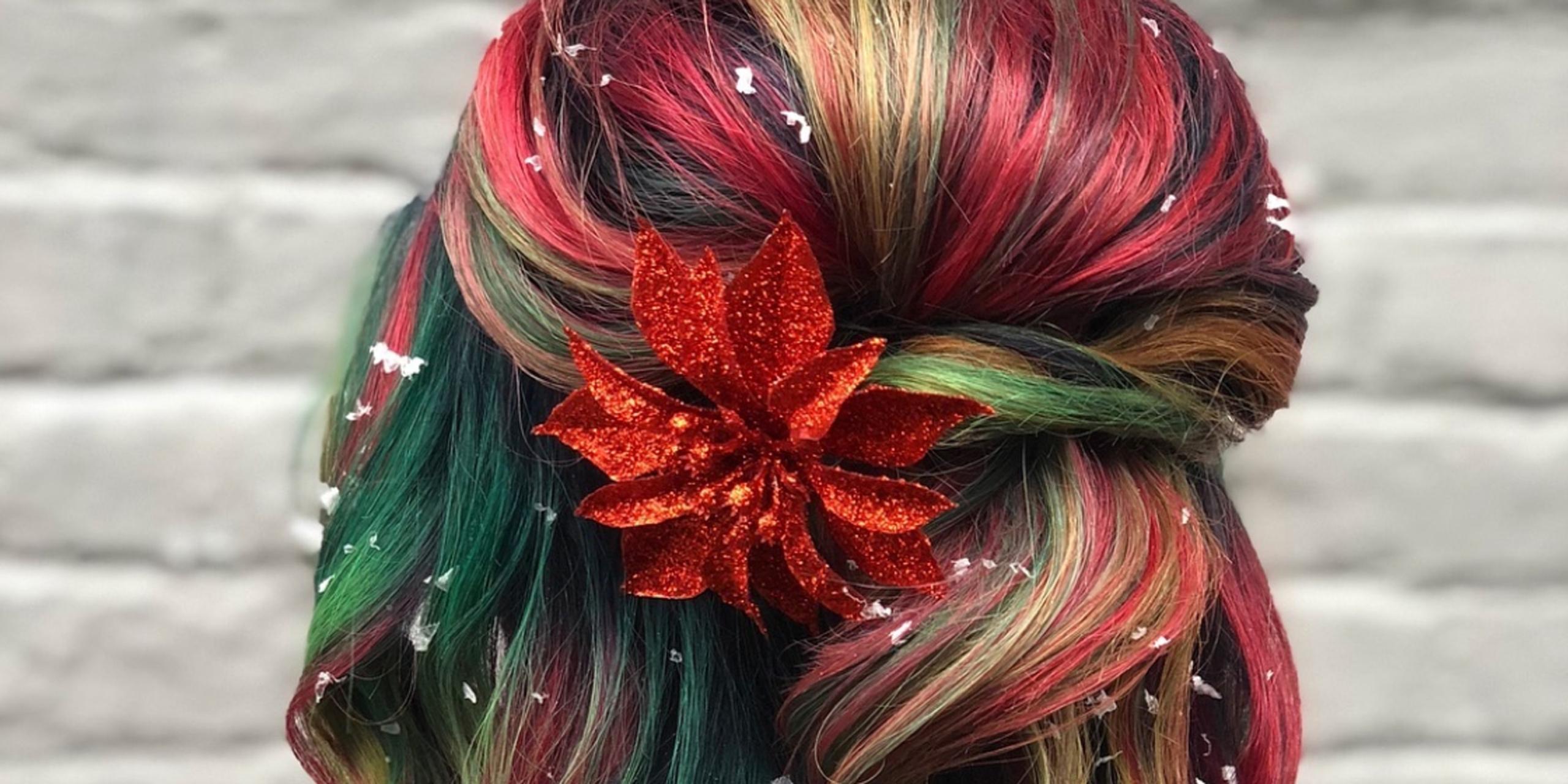 Some Christmas Hair Design Ideas