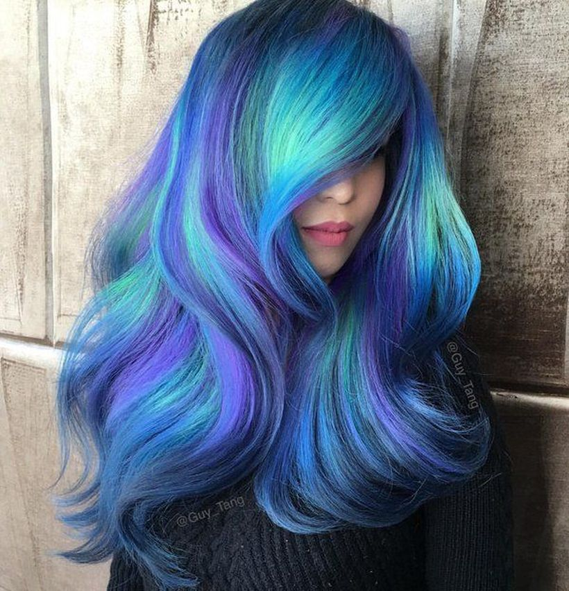Cool Styles for Colorful Hair