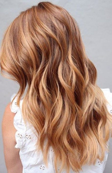 Copper Blond Hair Model Ideas