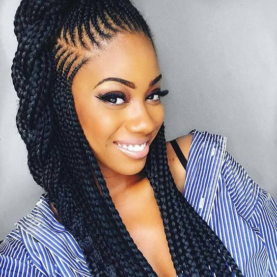Cornrow Hairstyles 2019 Trends in Model For the New Year