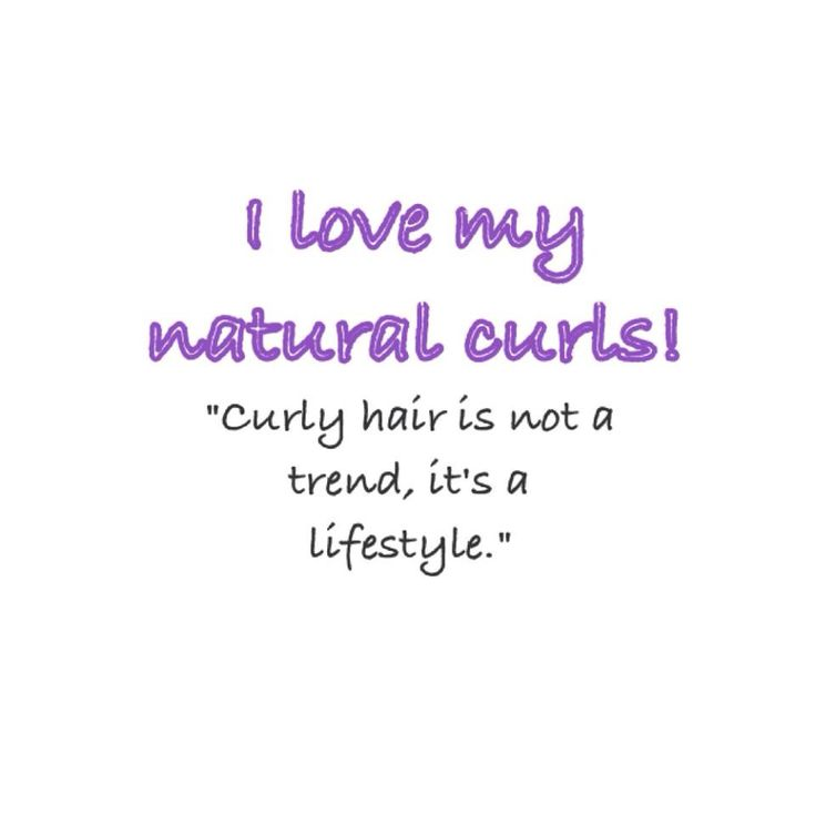 Curly Hair Quotes – Beautiful Pattern for Curly Hair