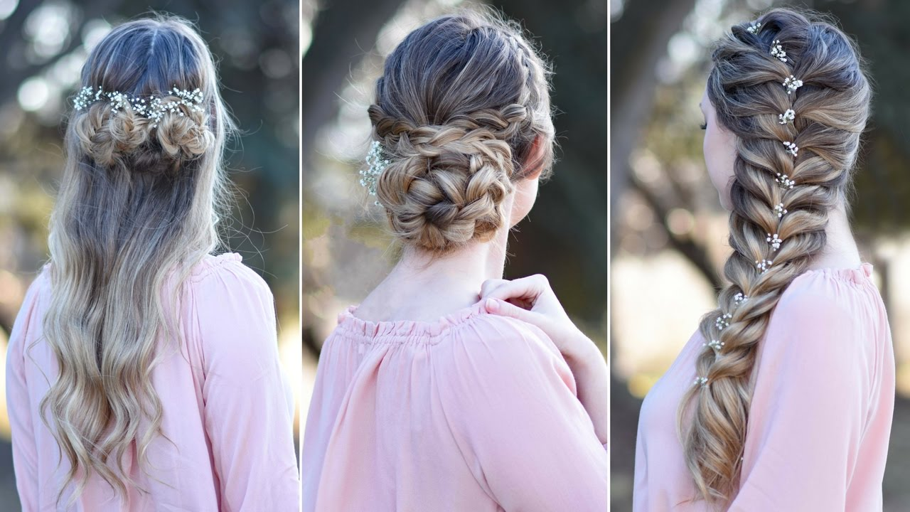 Cute Prom Pattern for Short Hair