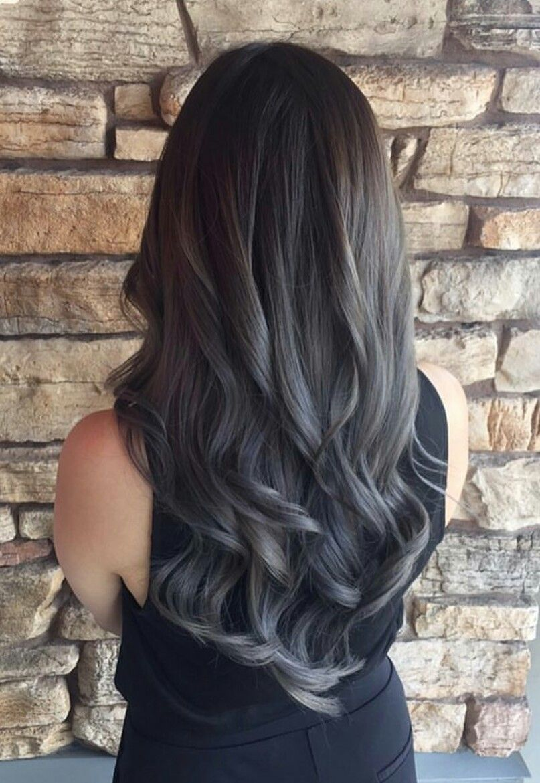 Great Styles for Dark Grey Hair