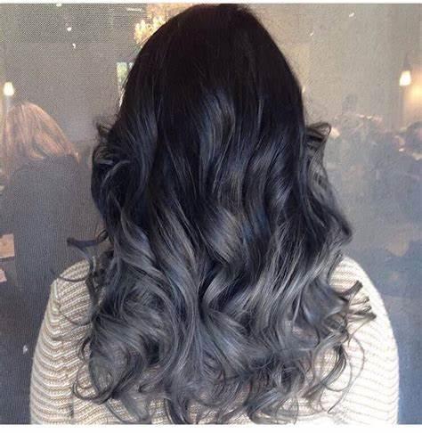 Dark Silver Model Hair Ideas