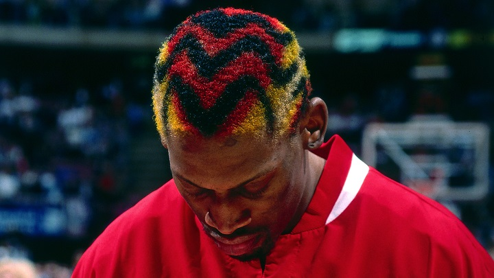 Dennis Rodman Hair