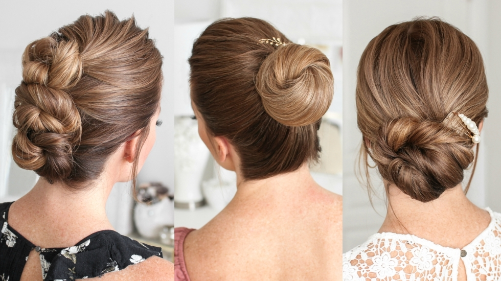 Easy Updo Hairstyles – Find the Best For Your Hairstyle