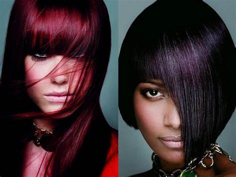 Model Ideas – An eggplant Hair Color Trend That Works