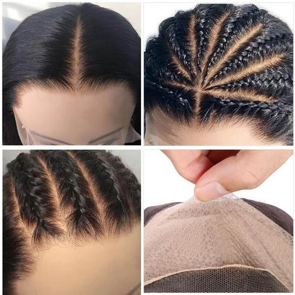 Beautiful Hairstyles With a Fake Scalp Wig