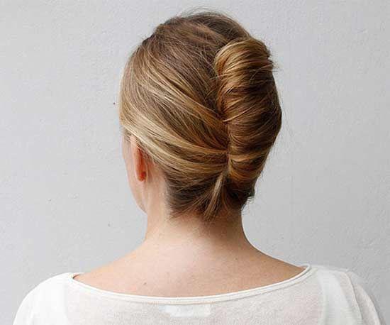Beautiful French Twist Hair