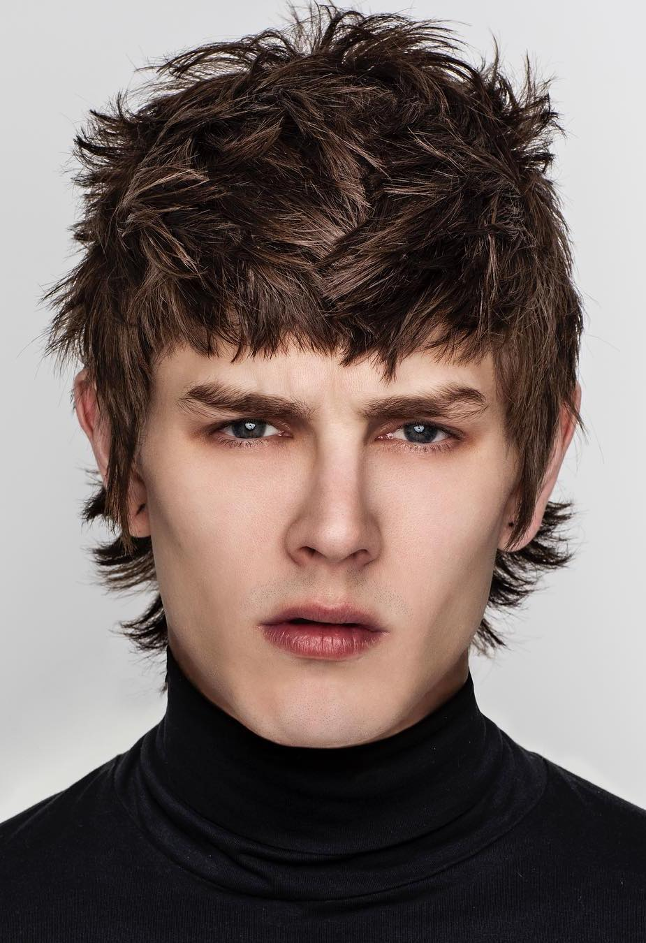 Fringe Haircut Styles For Men