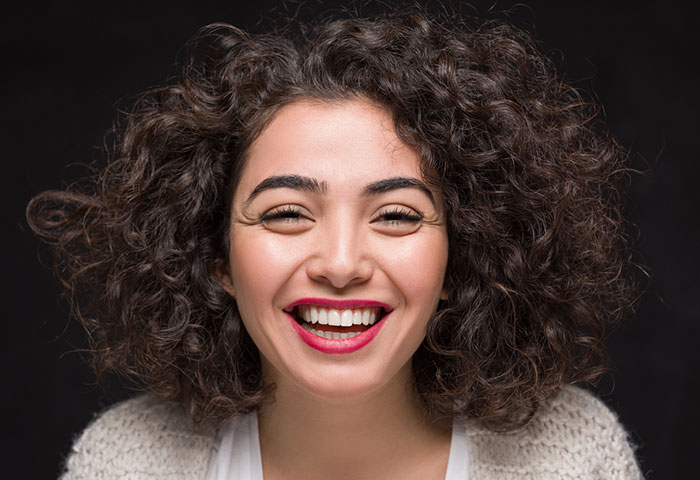 Beautiful Pattern for Frizzy Curly Hair