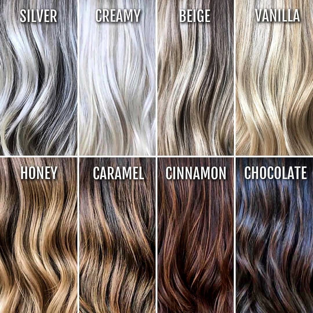 Latest Hair Shades Color Designs For Girls