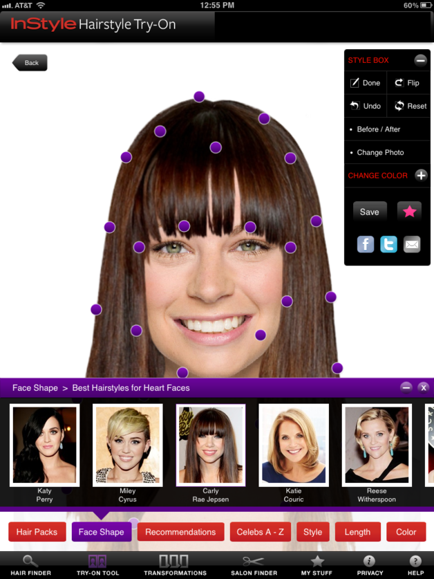 Hairstyle App For Android Users